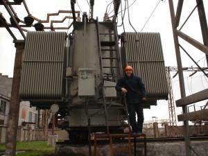 """Автор блога """"Заметки электрика"""" - Дмитрий. ПС 110/10 кВ. Проверка релейной защиты трансформатора 110/10 кВ мощностью 63 МВА."""