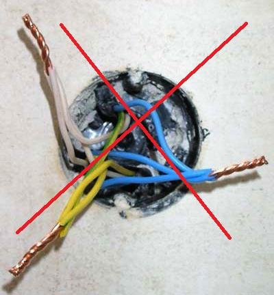 Как правильно соединять провода?