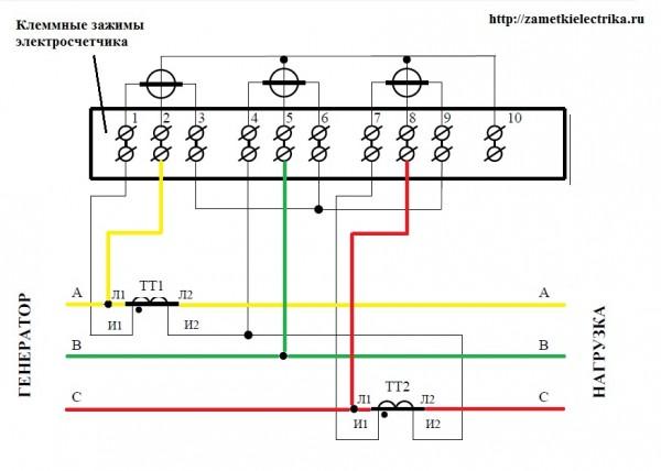 Трансформаторы напряжение