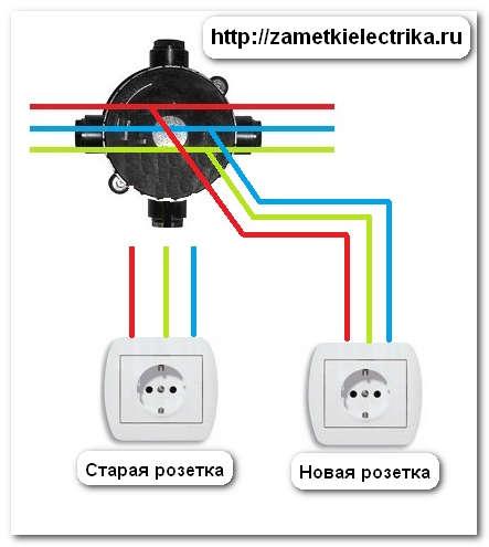 7. Подключаем новый кабель в