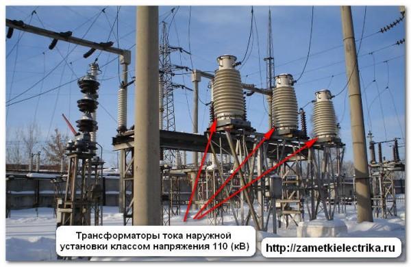 Внутренние трансформаторы тока