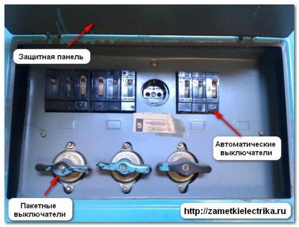 Монтаж сип кабеля в щите