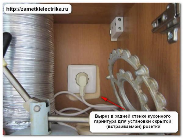Стандарты по установке электрических розеток