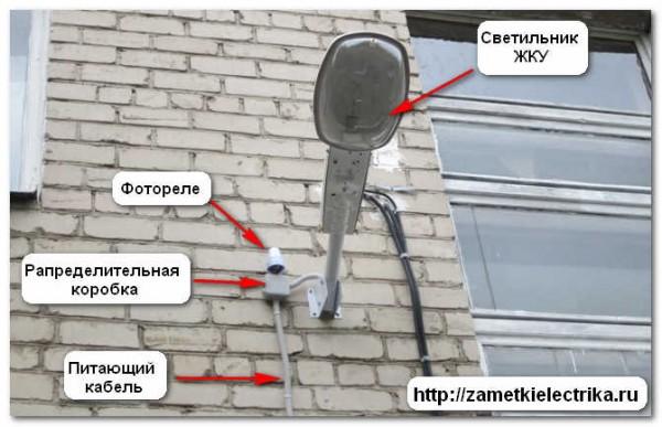 Схема подключения жку