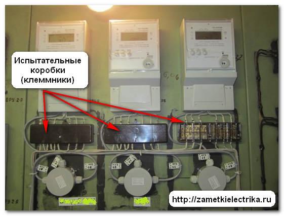через трансформаторы тока