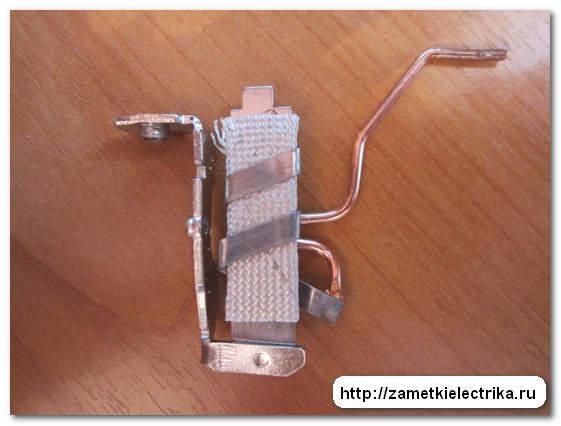 Биметаллическая пластина.  Тепловое реле LR2 D1314.  Назначение, устройство, схема подключения.