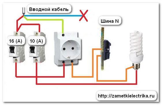 энергосберегающей лампы (в
