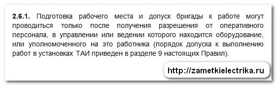 dopusk_brigady_k_rabote_v_elektroustanovkax_po_naryadu_допуск_бригады_в_электроустановках_по_наряду_3