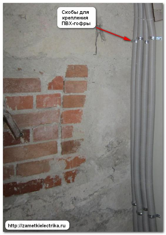 Открытая прокладка электропроводки в доме