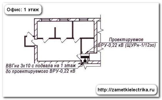 Проект электроснабжения офиса, Заметки электрика