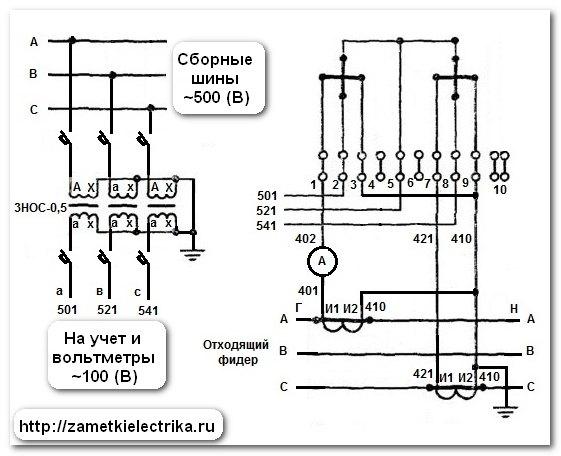 Электрическая схема 4211