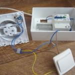 Схема подключения вентилятора в ванную комнату