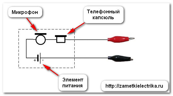 Схемы телефонных трубок