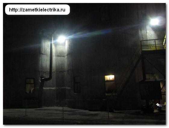 Светодиодные прожекторы для уличного освещения екатеринбург