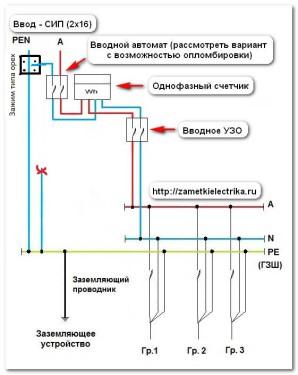 Схемы с ре проводником