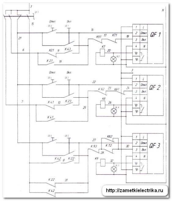 Схема авр автоматах приводами 284