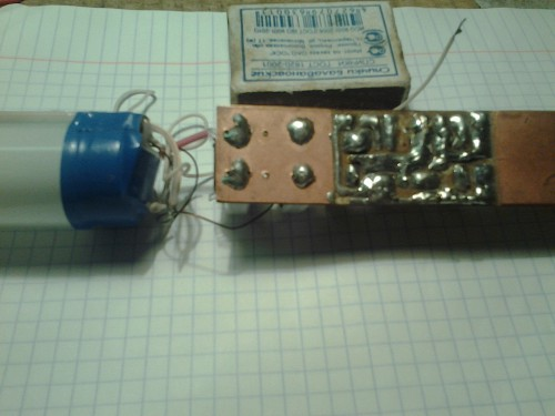 Лампа с электронным балластом своими руками 780